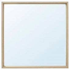 NISSEDAL НИССЕДАЛЬ Зеркало - под беленый дуб 65x65 см