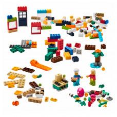 BYGGLEK БЮГГЛЕК Набор LEGO®, 201 деталь - разные цвета