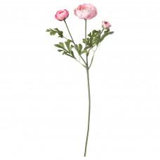 SMYCKA СМИККА Цветок искусственный - лютик/розовый 52 см