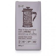 PÅTÅR Кофе для пресса, сильной обжарки - ./сертификат UTZ/100 % зерна Арабики