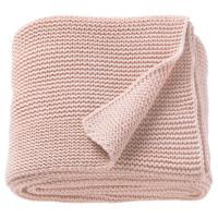 INGABRITTA ИГАБРИТТА Плед - бледно-розовый 130x170 см