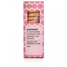 KAFFEREP Печенье с малиновым наполнителем