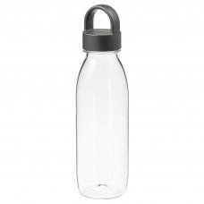 IKEA 365+ ИКЕА/365+ Бутылка для воды - темно-серый 0.5 л
